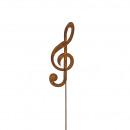 Raccord métallique 'clef', hauteur 70cm, m